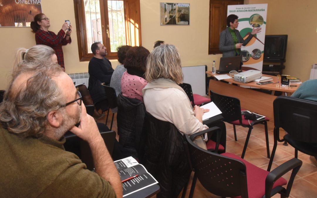 Presentacion Pon Aragón en tu mesa en Torrevelilla