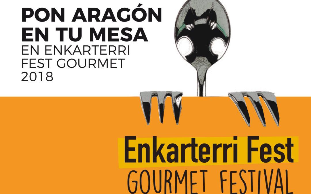 Pon Aragón en tu mesa en ENKARTERRI FEST GOURMET 2018