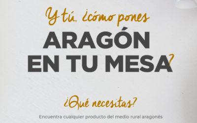 """""""Pon Aragón en tu mesa"""" moderniza su web"""