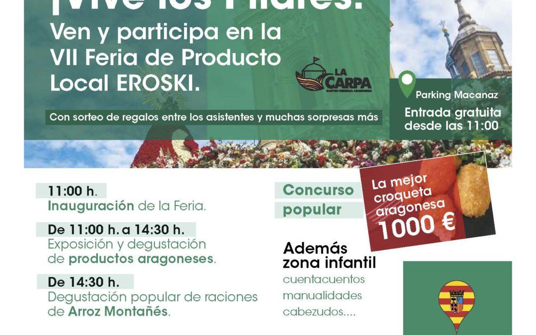 Pon Aragón en tu mesa en la Feria de Producto Local de Eroski
