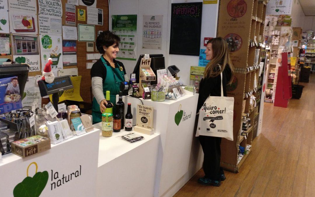 Conversaciones con la Tienda La Natural, «Es bueno, es de Aragón»