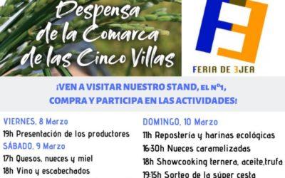 La Despensa de las Cinco Villas en la Feria de Ejea del 8 al 10 de Marzo