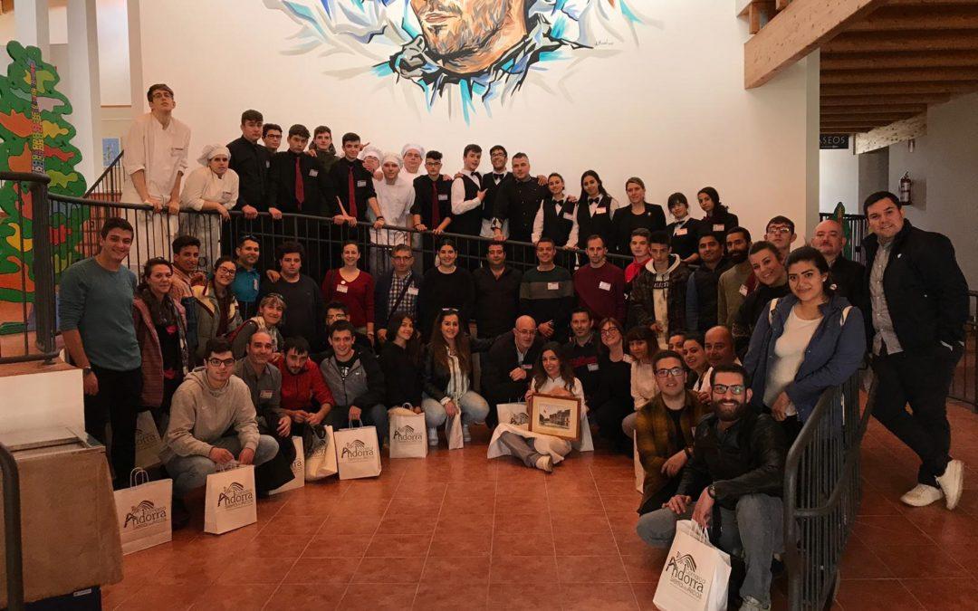 Pon Aragón en tu mesa en Andorra, en el Encuentro de Escuelas de Hostelería de Aragón