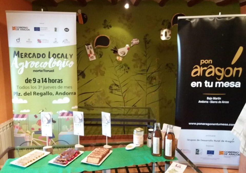 Semana de la Alimentación y los productos de proximidad en Bajo Martín Andorra Sierra de Arcos