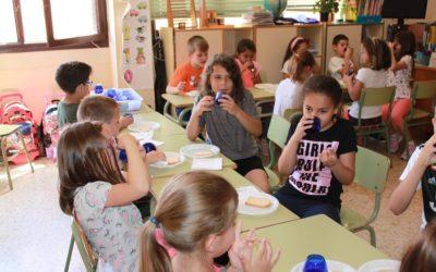 Catas de AOVE en los colegios de la Comarca Campo de Belchite