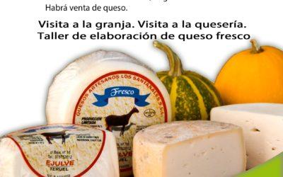 Visita a Quesería Los Santanales en Ejulve 24 de Julio