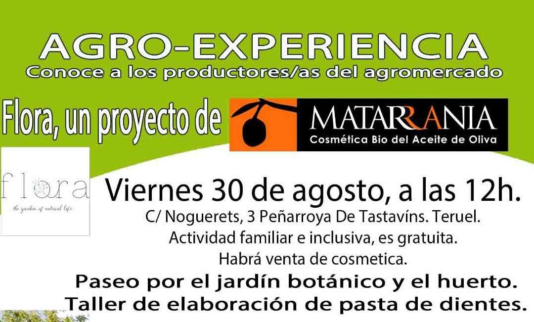 Visita a EcoMatarraña, 30 de Agosto Peñarroya de Tastavins