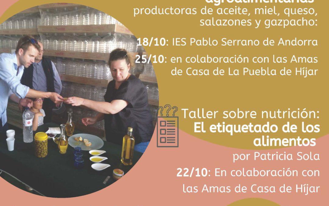 Conoce los productos de proximidad del Bajo Martín Andorra-Sierra de Arcos