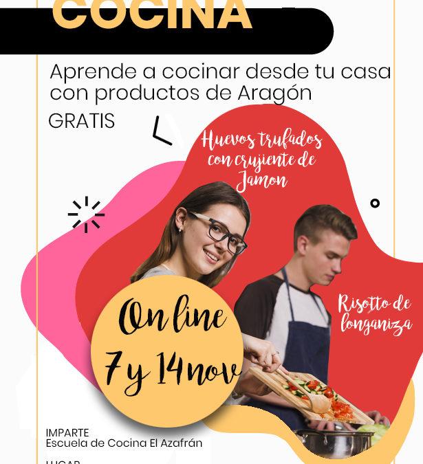 Cursos de cocina on line con ingredientes locales