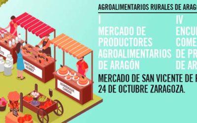 Inscríbete ya para el mercado de productores y encuentro con comercializadores 24 de Octubre en el Mercado San Vicente de Paúl