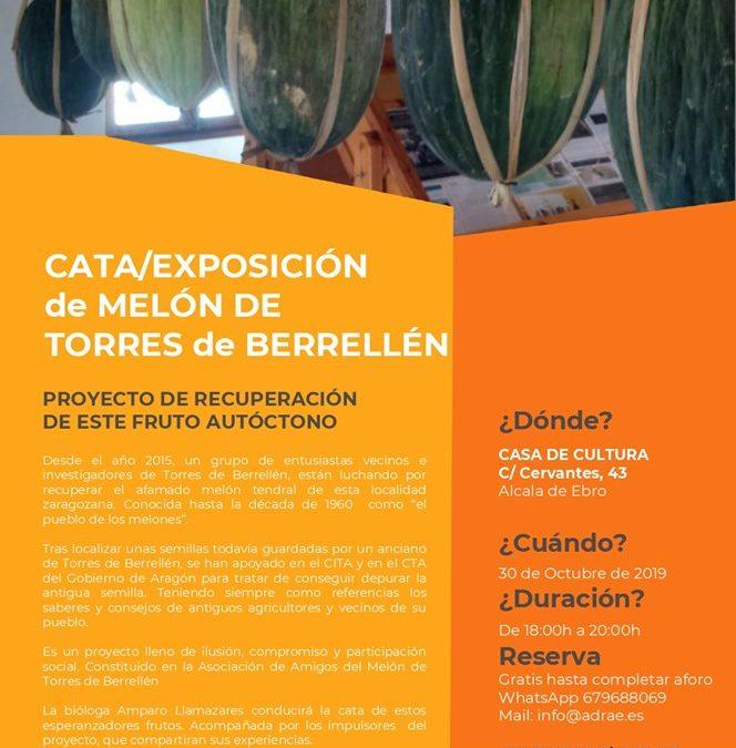 Catas y presentaciones del melón de Torres de Berrellén