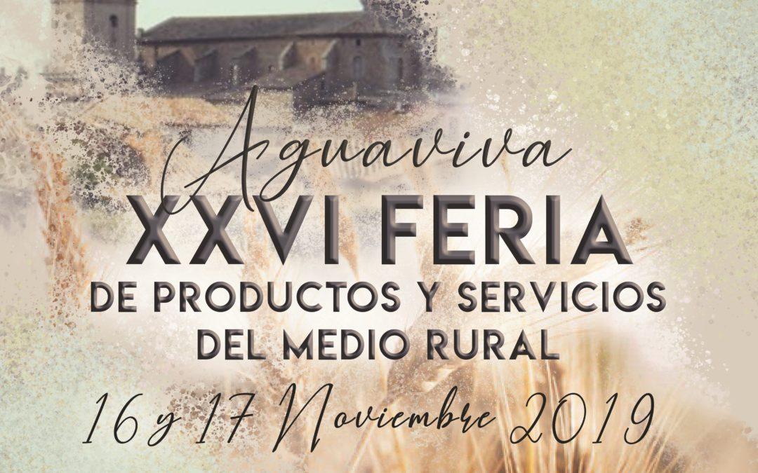 Pon Aragón en tu mesa y los productores de Teruel  la Feria de Aguaviva