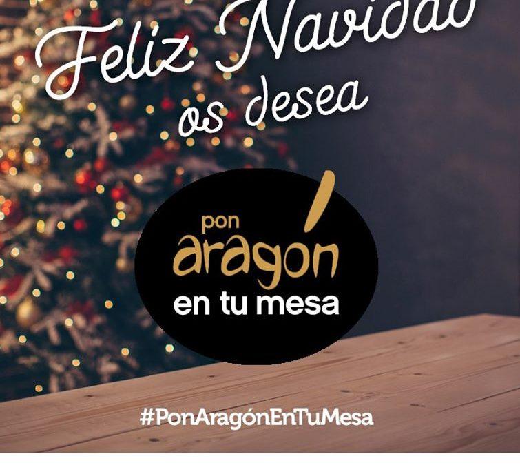 Feliz Navidad desde Pon Aragón en tu mesa