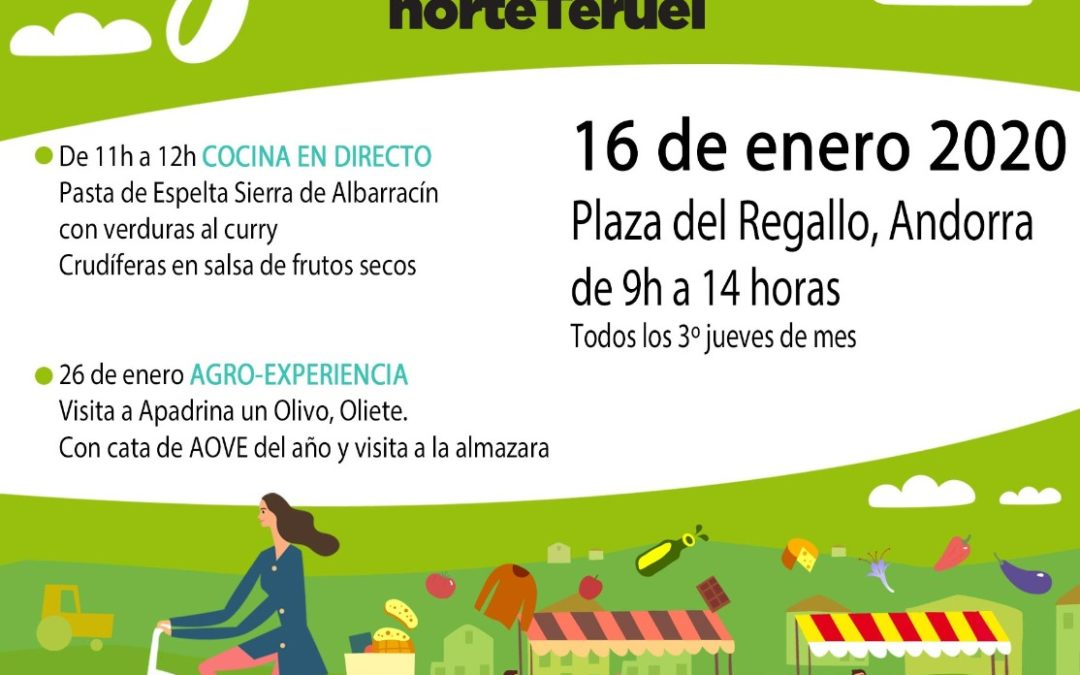 Mercado Local y Agroecológico Norte Teruel jueves, 16 de Enero