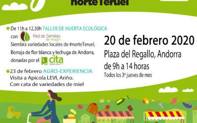 Mercado Local y Agroecológico Norte Teruel jueves, 20 de febrero en Andorra