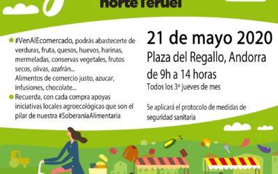 Mercado Local y Agroecológico Norte Teruel jueves, 21 de Mayo en Andorra