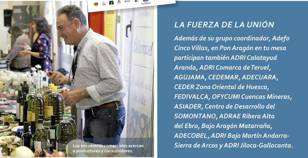 Pon Aragón en tu mesa en la revista Red Rural Nacional