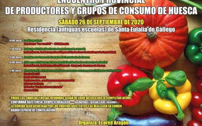 Encuentro provincial de productores y grupos de consumo de Huesca