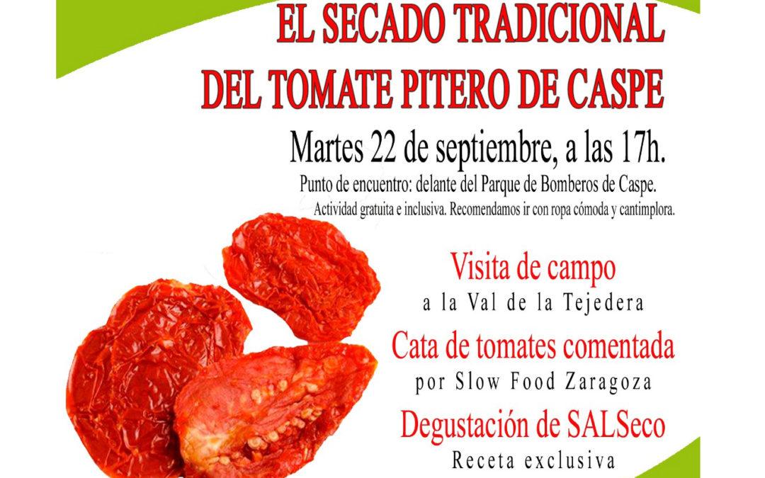 Agroexperiencia 'El secado tradicional del tomate pitero de Caspe'