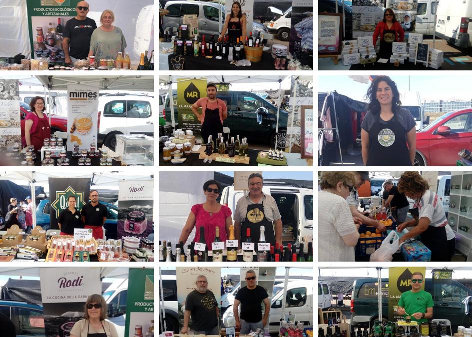 Pon Aragón en tu mesa acerca los productos de los pueblos de Aragón al mercado agroalimentario de Parque Venecia desde el sábado 21 de Noviembre