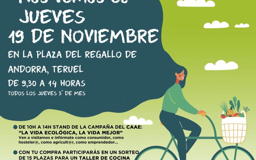 Nueva edición del mercado Agroecológico norte Teruel