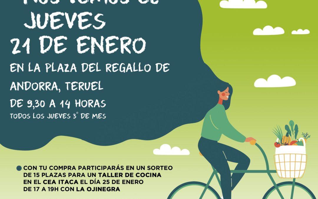 Nueva edición del mercado Agroecológico norte Teruel, jueves 21, lunes 25 taller en Itaca y sábado 30 agroexperiencia en Alcorisa