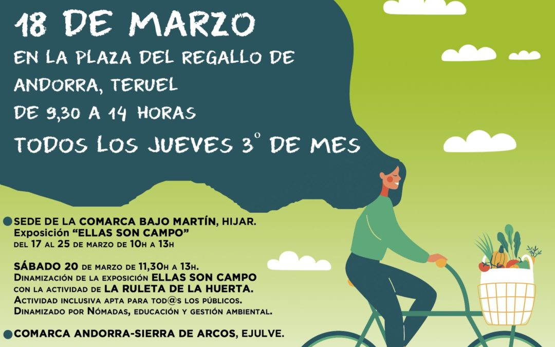 Mercado Agroecológico norte Teruel, jueves 18