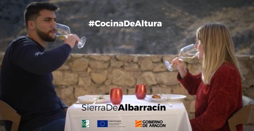 Vídeo promocional de los productos agroalimentarios y restaurantes de la Sierra de Albarracín
