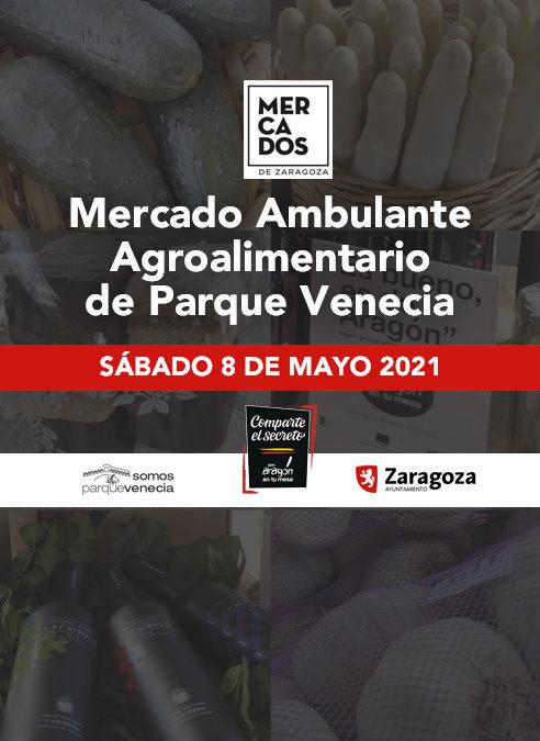 Cada sábado en Zaragoza Pon Aragón en tu mesa acerca los productos de los pueblos de Aragón al mercado agroalimentario de Parque Venecia