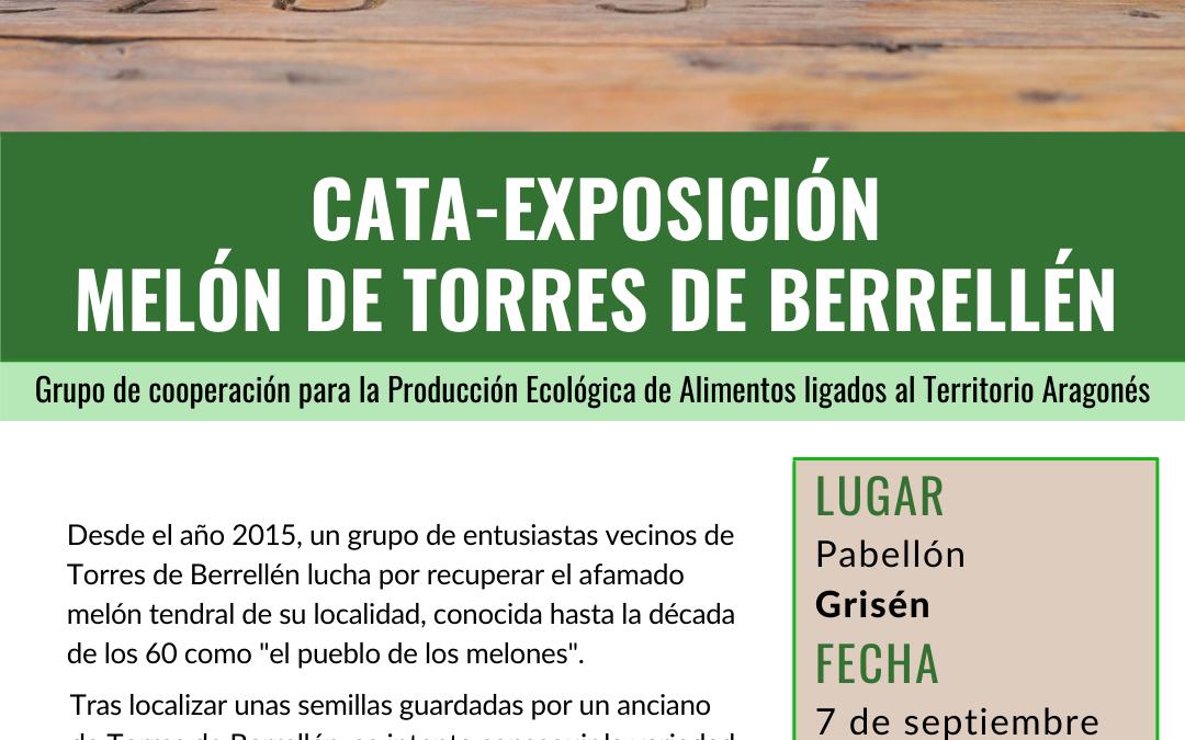 Catas exposición de Melón de Torres de Berrellén en el marco del proyecto de Cooperación