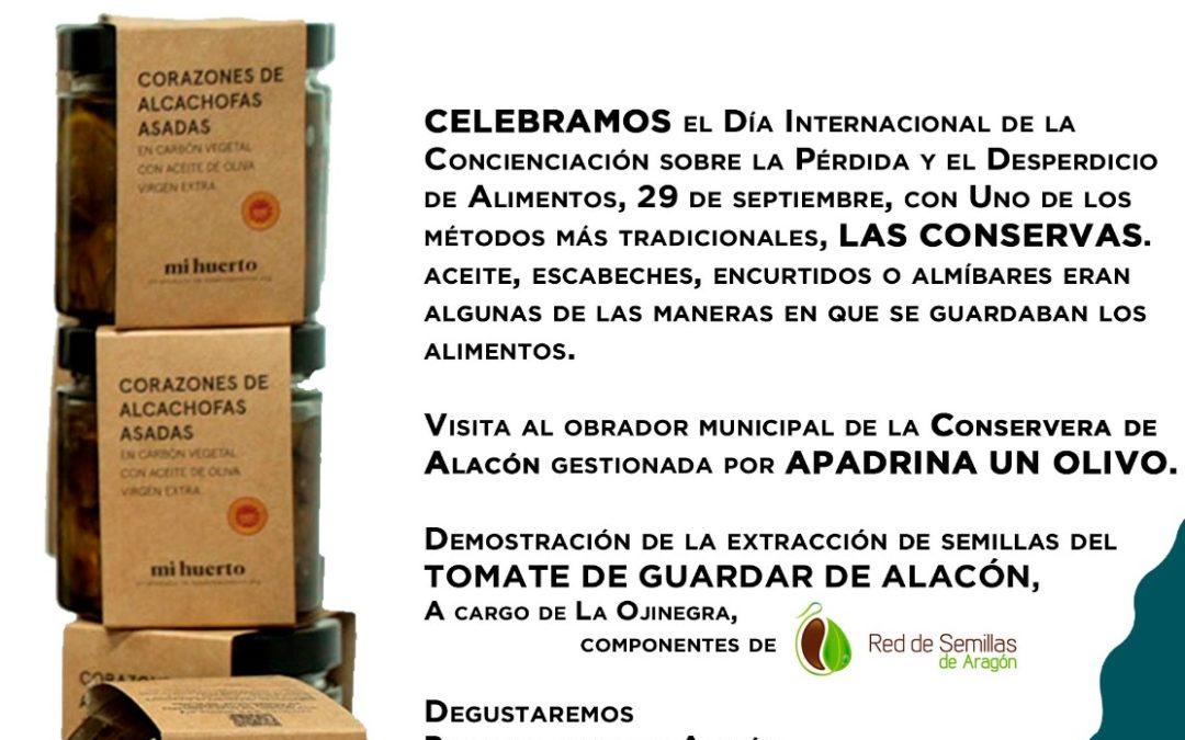 Agroexperiencia en Alacón, Conservera, Mercado Local y Agroecológico Norte Teruel