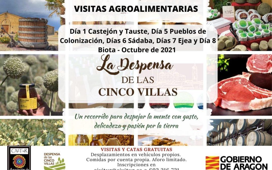 Visitas agroalimentarias en Cinco Villas