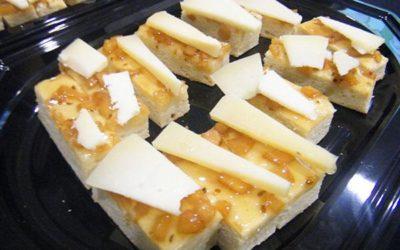 Torta de manteca y membrillo y queso Dos Arbas