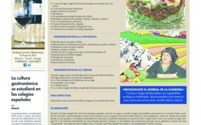 Ensalada de trigo Aragón 03 y lentejas con tartar de alcaparras de Ballobar y oliva empeltre