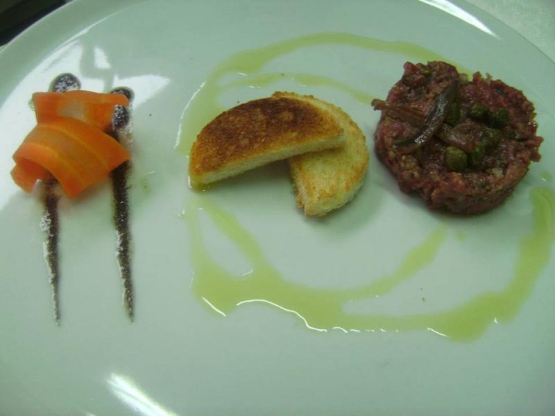 Tartar de Ternera Pirenaica con Alcaparras de Ballobar