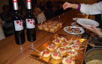 Boliches de Luesia rehogados con Longaniza de Erla y lardones de Jamón del Frago